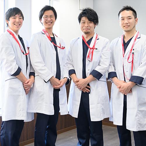 スタッフ一丸、患者様のために。高度医療を実現するチーム医療